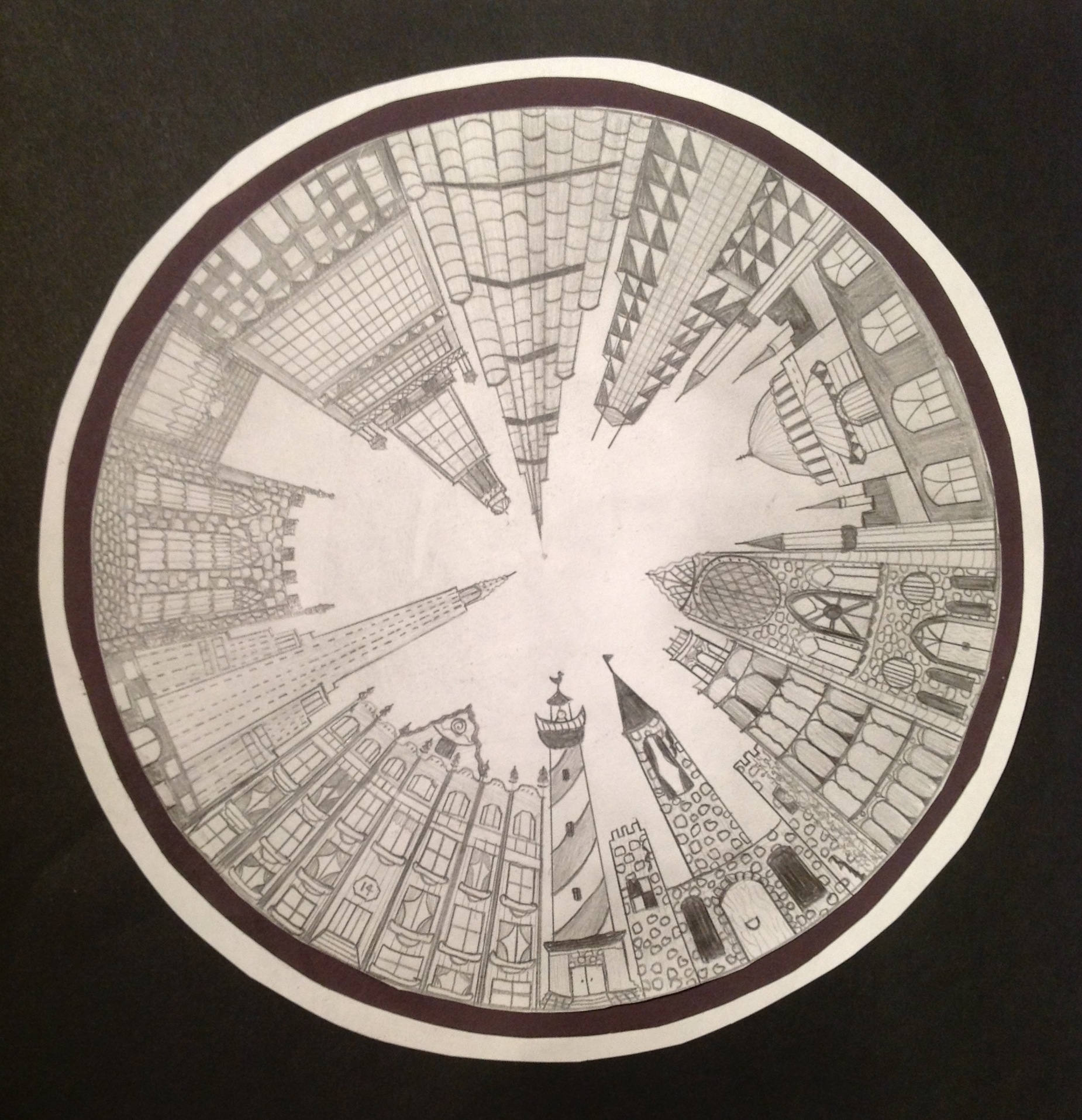 The Smartteacher Resource 1 Point Perspective City