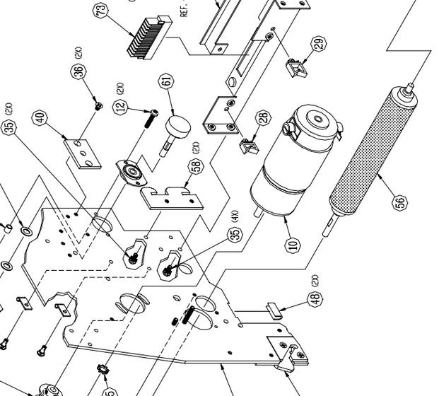 02-0884-00 XL Head Motor