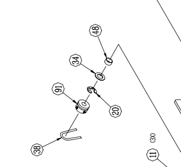09-0567-00 Pulley Assembly, Take-Up, Driver
