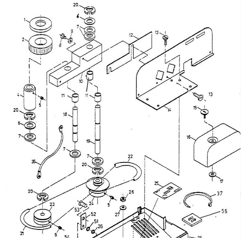 INPUT ROLLER for Envelope Opener FD450
