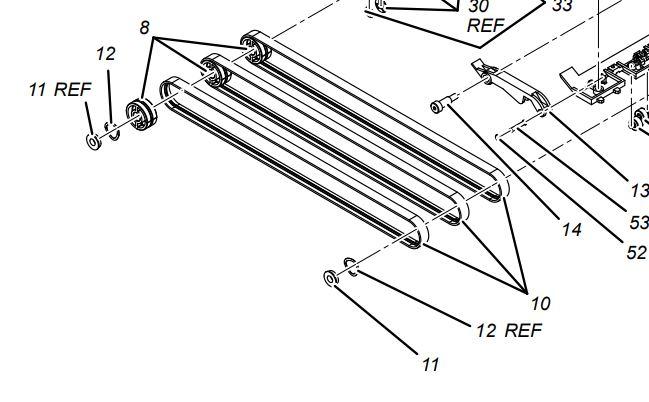 DI950 PreFold Accumulator Belt F765003