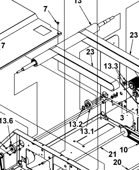 HOUSING ASSEMBLY, SMALL 0.075 / T-650 35-101-14