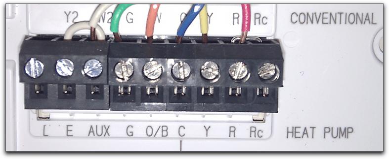 trane heat pump thermostat wiring diagram in ceiling speaker support | nest