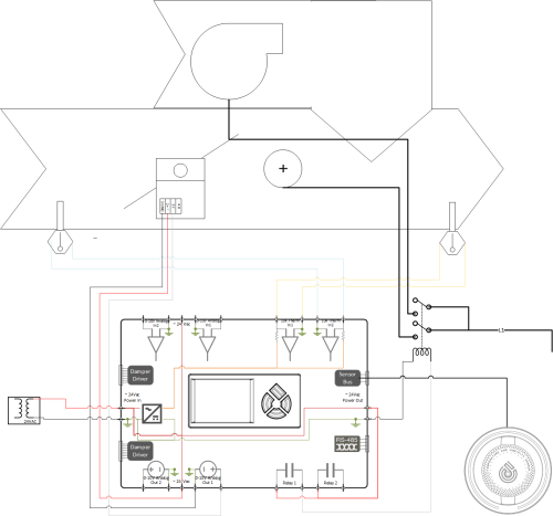 small resolution of wiring vav w electric reheat parallel fan 3 png