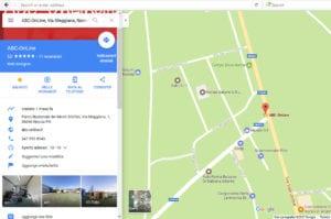 trovare aziende su Google Maps