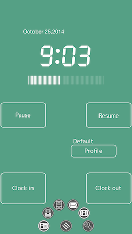 WorkLog 6Plus TimeRecord