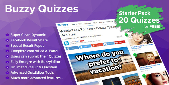 Buzzy - News, Viral Lists, Polls and Videos - 1