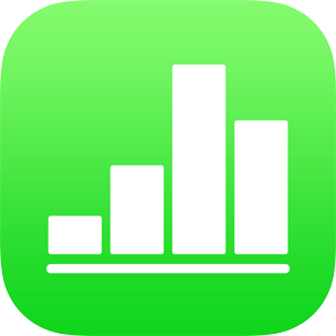 Numbers for iPad: Password-protect a spreadsheet