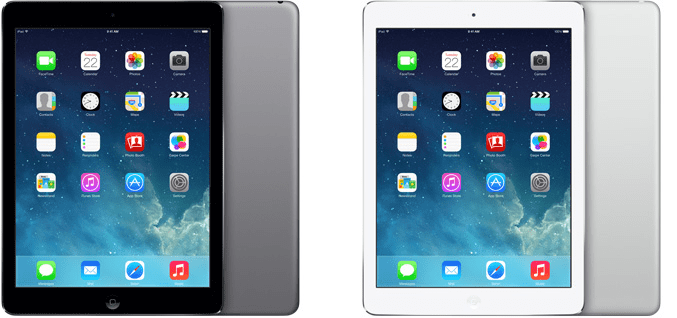 ipad air technical specifications