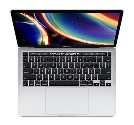 macbook pro 13 inch 2020 four