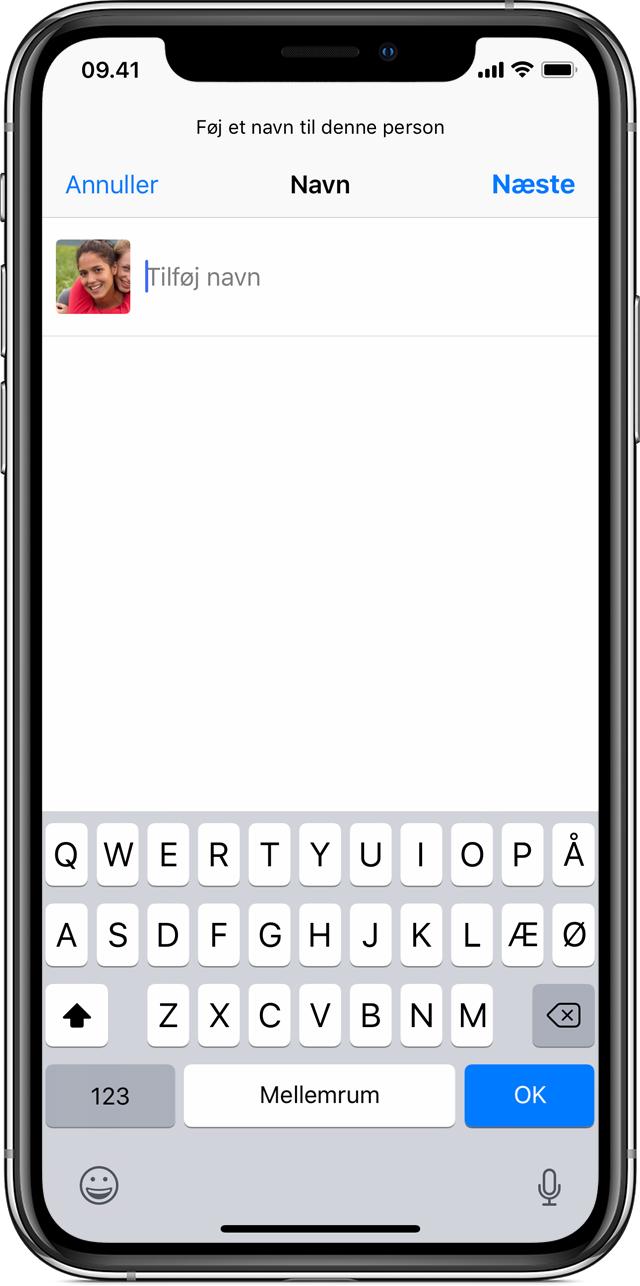 Om Personer i Fotos på din iPhone, iPad eller iPod touch
