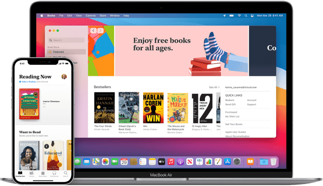 Read books and more with Apple Books - Apple Support