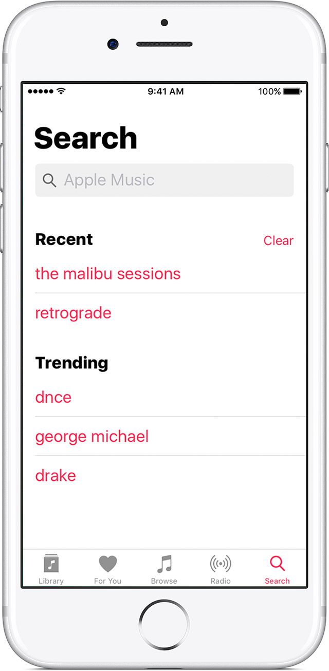 Use Apple Music on your iPhone, iPad, iPod touch, or