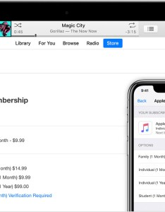 Mac iphone and android phone showing where you can manage your apple music subscription also support rh supportle