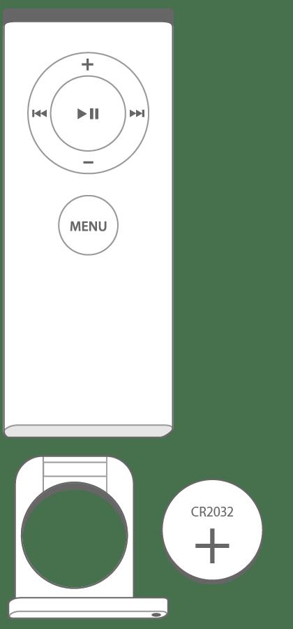 Apple Remote Control White A1156 for iMac Mac iPod