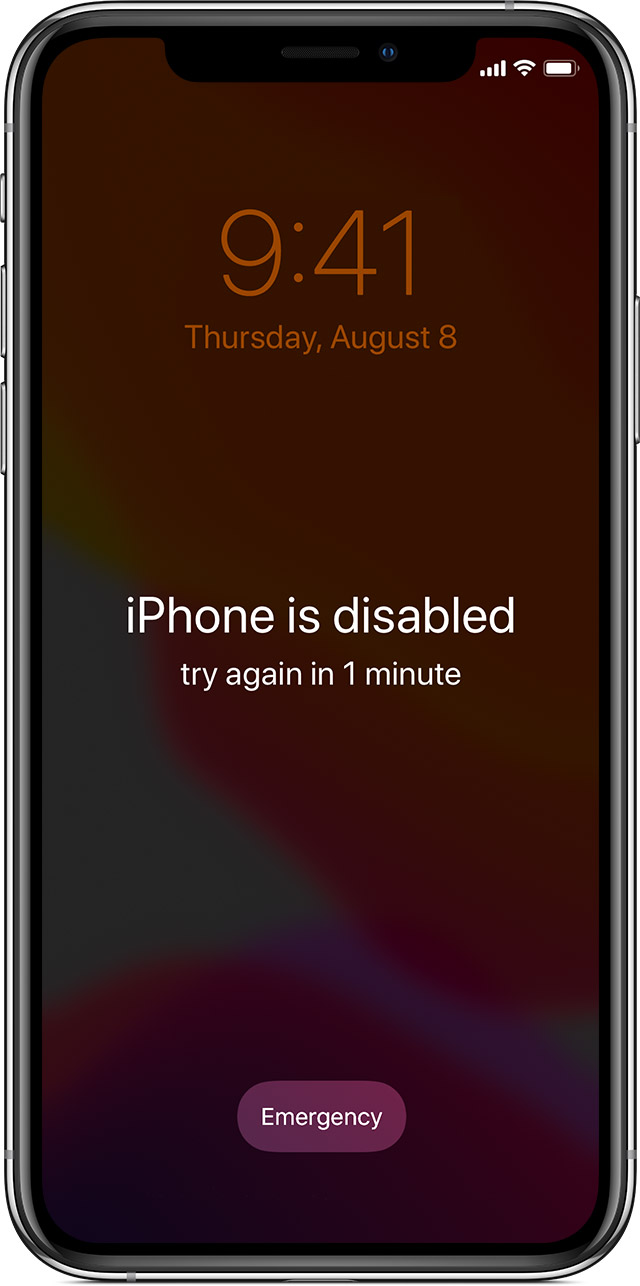 If you forgot your iPhone passcode - Apple Support