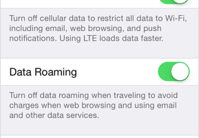 About Cellular Data Settings And Usage On Your Iphone And