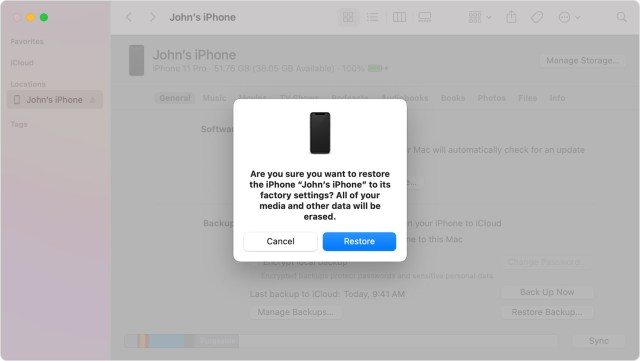 Restore your iPhone, iPad, or iPod to factory settings - Apple