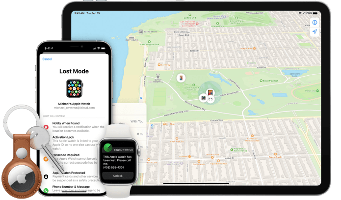 Use the Find My app to locate a missing device or item - Apple Support