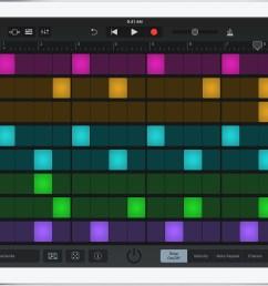beat sequencer screen [ 1560 x 1106 Pixel ]