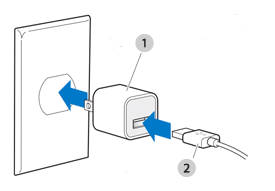 Apple USB Power Adapter (your adapter may look different