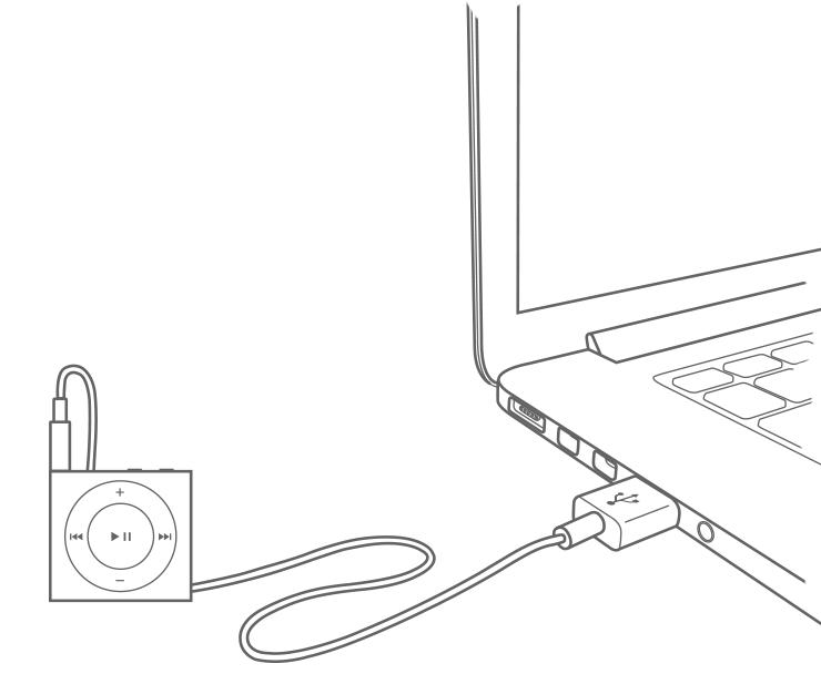 Charge your iPod classic, iPod nano, and iPod shuffle