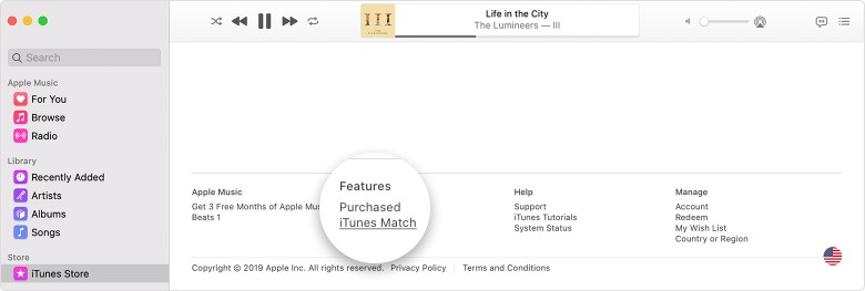 Subscribe to iTunes Match 4
