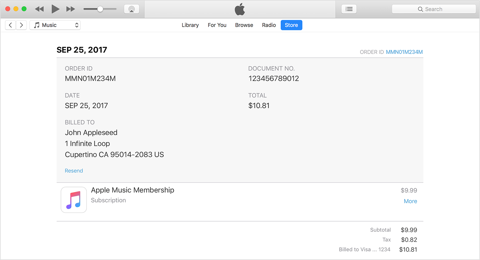 See your purchase history in the App Store or iTunes Store - Apple ...