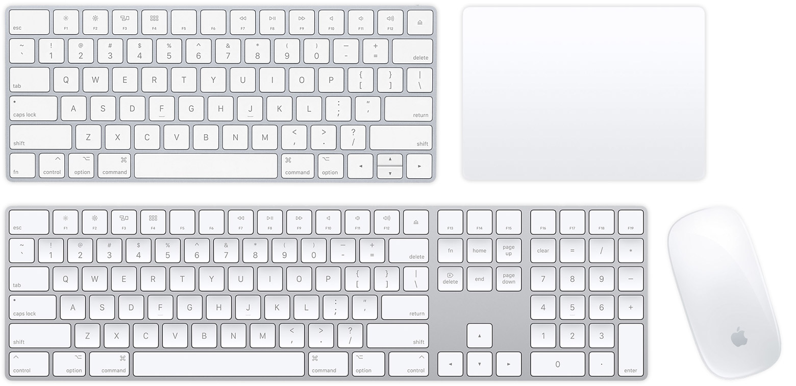 Set up your Apple wireless mouse, keyboard, and trackpad
