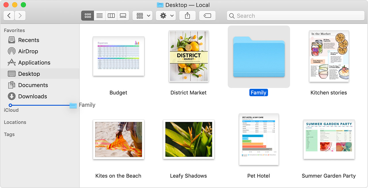 Get to know the Finder on your Mac - Apple Support