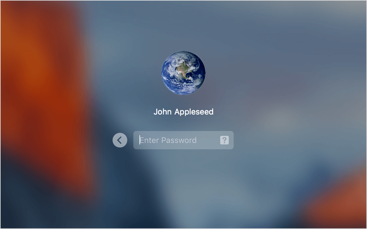 Change the language used at the login screen on your Mac