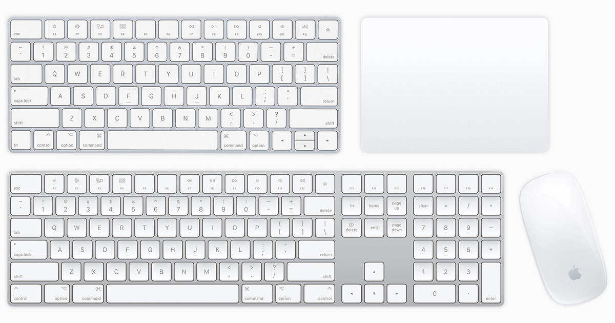 Apple Wireless Mouse, Tastatur und Trackpad einrichten