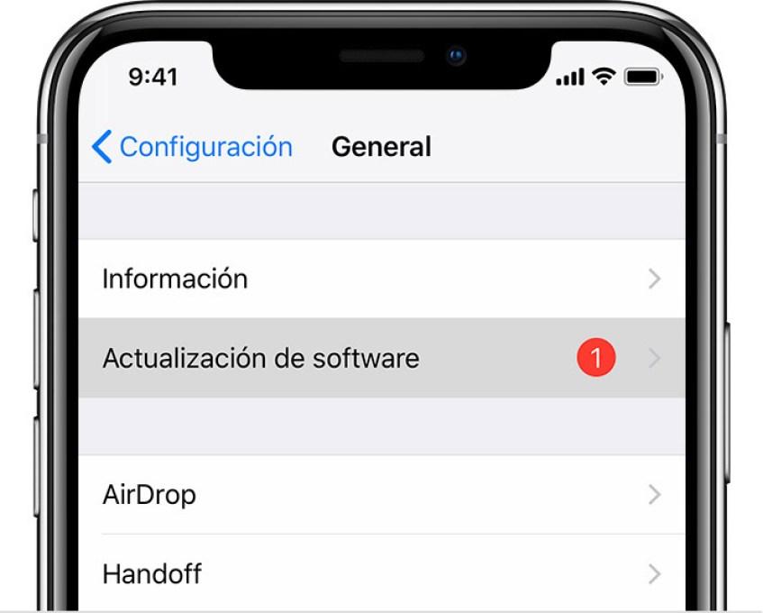 Resultado de imagen para iphone actualizaciones