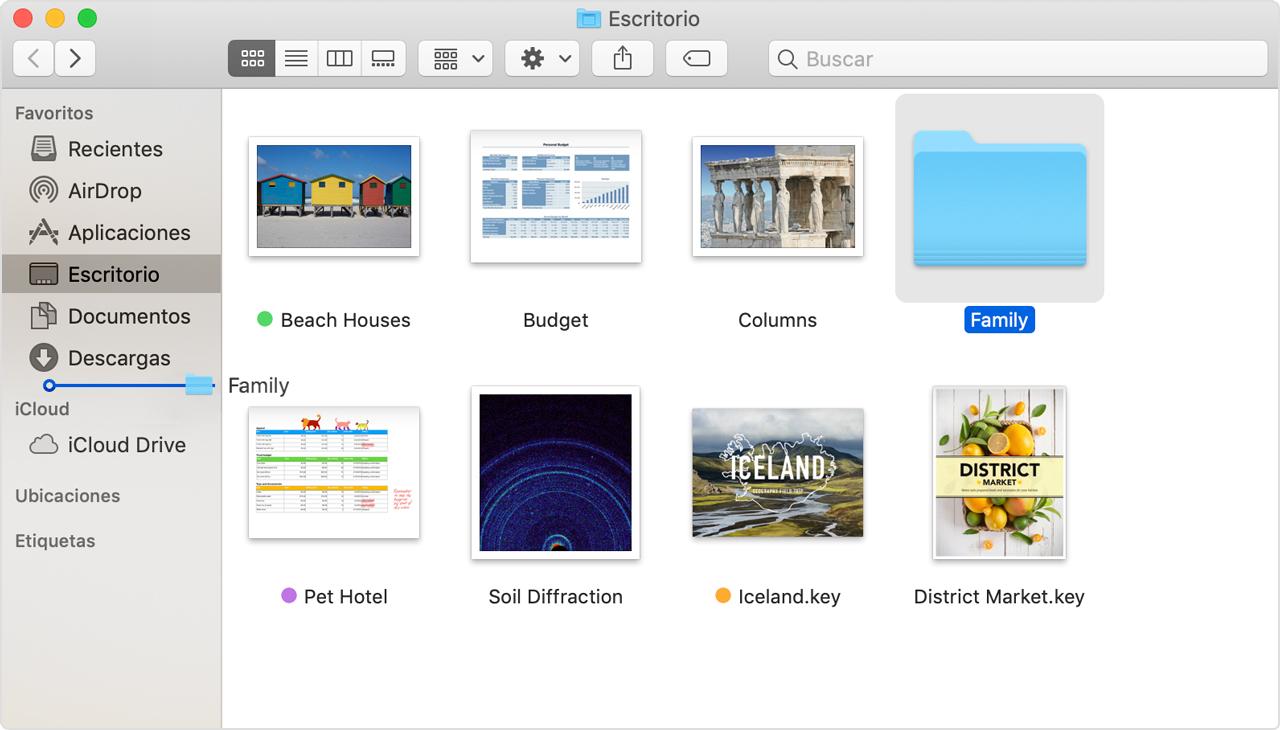 Conocer el Finder en tu Mac - Soporte técnico de Apple