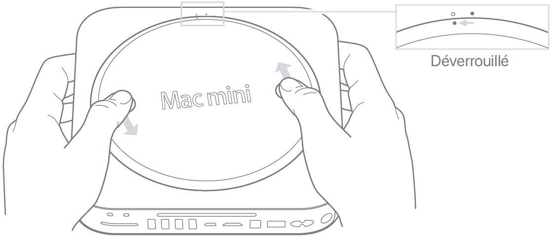 Mise à niveau de la mémoire sur votre Mac mini ou