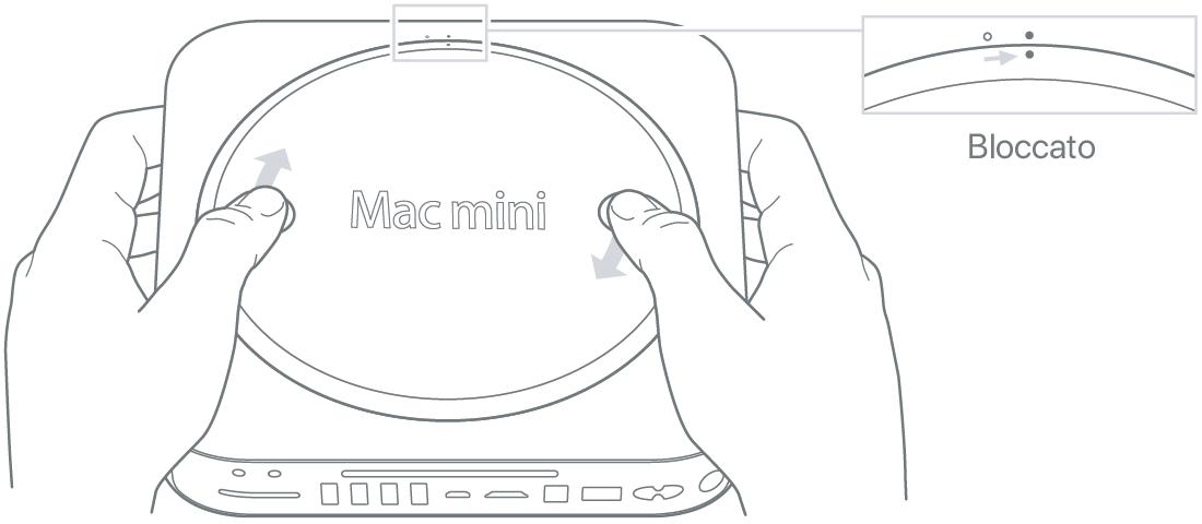 Eseguire l'upgrade o l'installazione della memoria in Mac