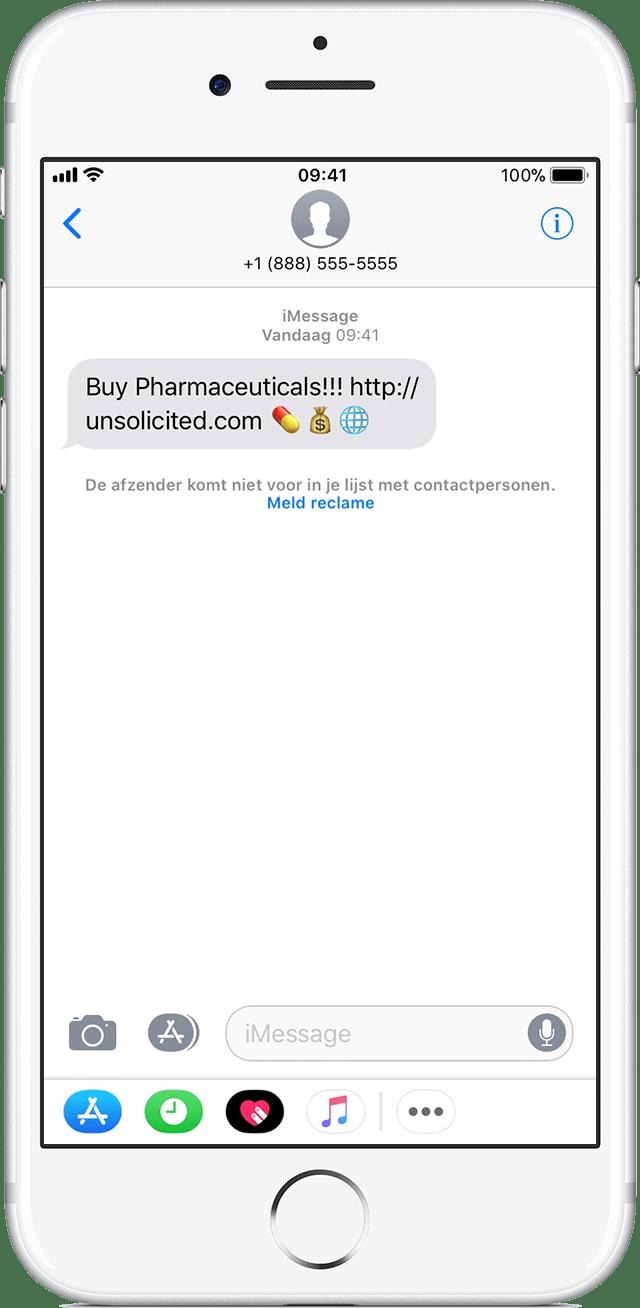 Telefoonnummers en contacten blokkeren op de iPhone, iPad