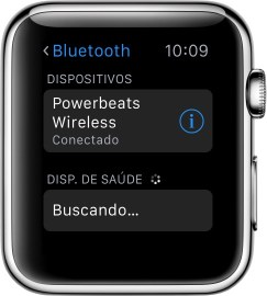 Powerbeats Wireless conectado