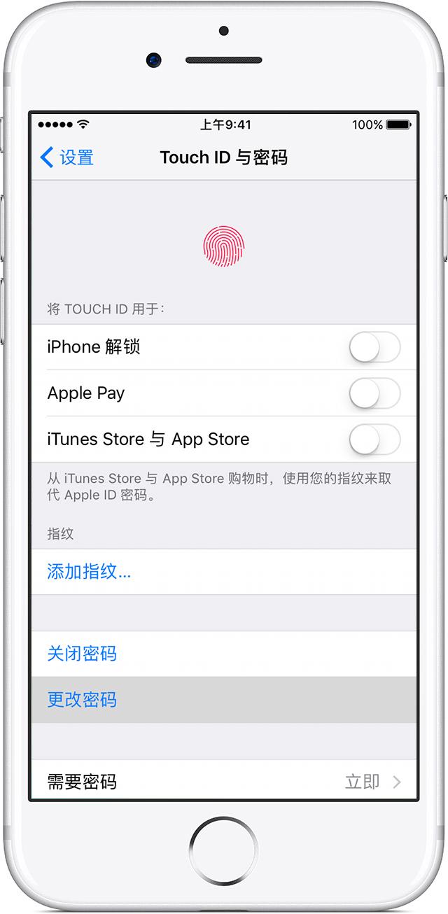 在您的 iPhone、iPad 或 iPod touch 上使用密碼 - Apple 支持