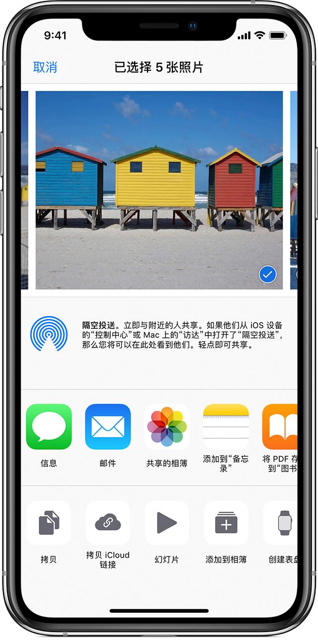 """使用""""照片""""中的""""共享的相簿"""" - Apple 支持"""