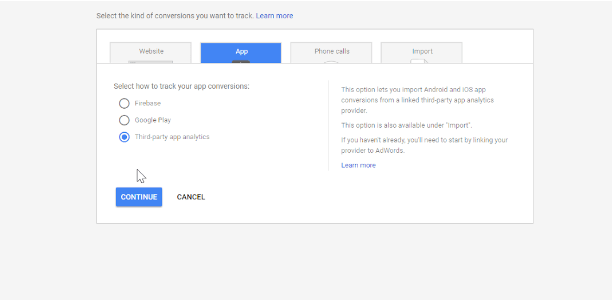 Google AdWords Integration Configuration - New API