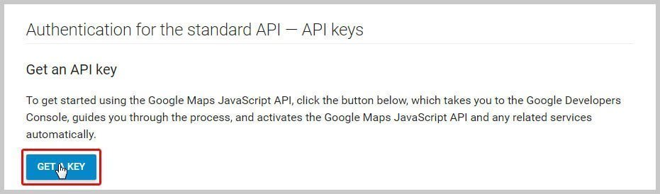 BB – How to create Google API key in Google Maps module