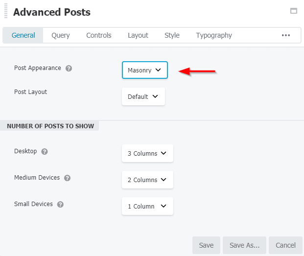 BB – How to enable taxonomy filters in Advanced Posts?
