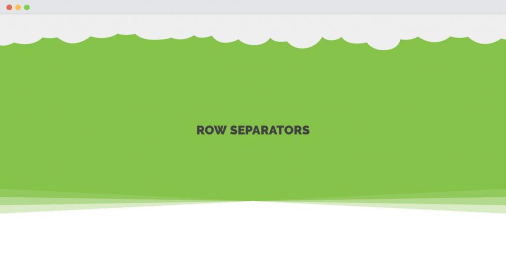 BB – How to use Row Separator module effectively?