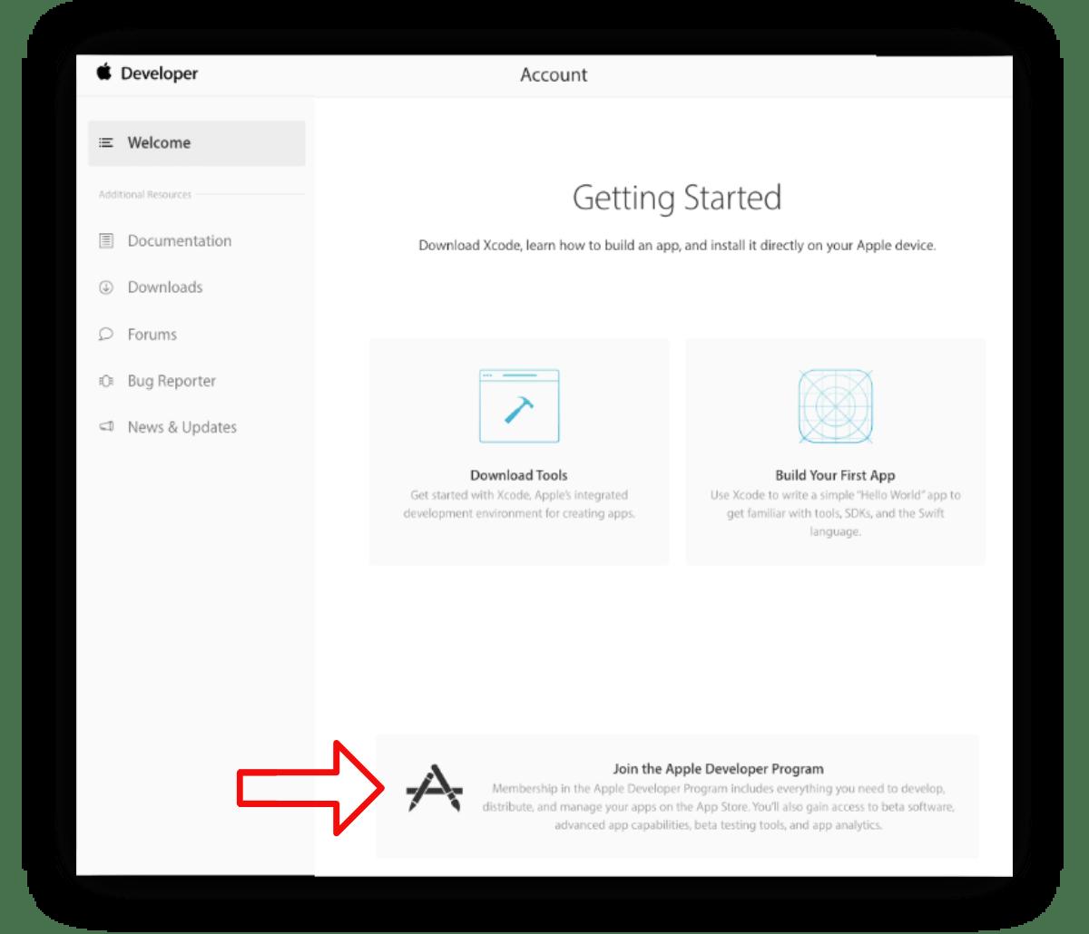 Enroll For Apple Developer Account