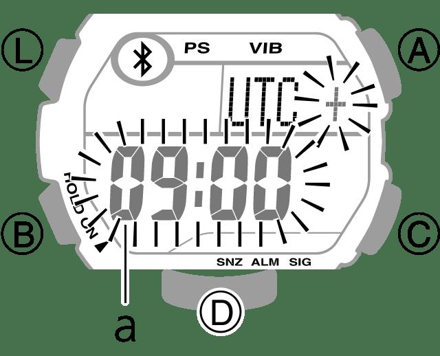 Einstellen von Zeit und Datum – Uhr-Einstellungen