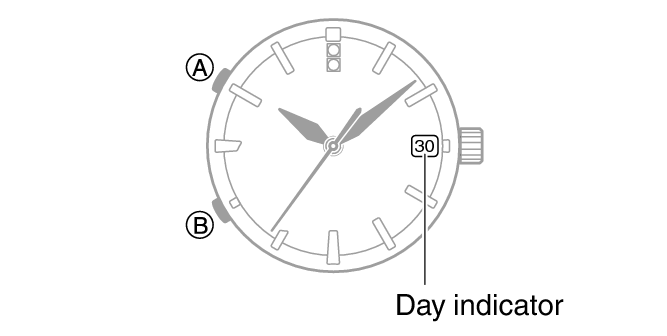 Day Indicator Movement Module No. 5459/5460 SHEEN