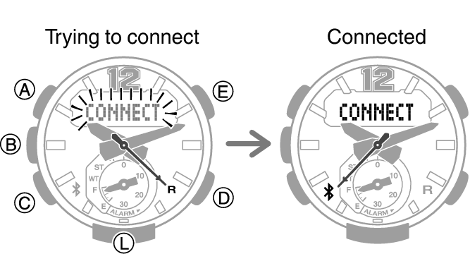 Configuring Watch Settings Module No. 5536 G-SHOCK