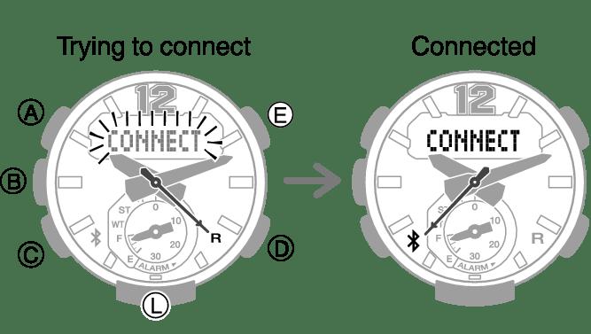 Configuring Watch Settings Module No. 5536 G-SHOCK