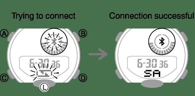 Configuring Watch Settings Module No. 5554/5555 G-SHOCK